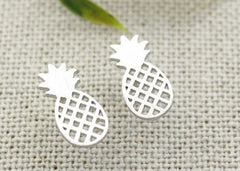 Tiny Cute Pineapple Stud Earrings