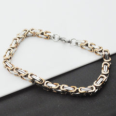 Stainless Steel Chain Bracelet - 6 Color Options
