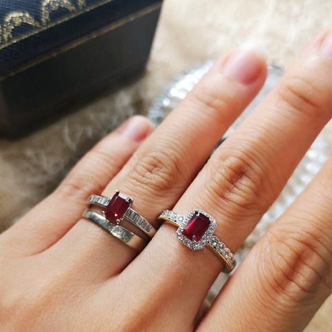 Vintage Imperial Ruby Ring
