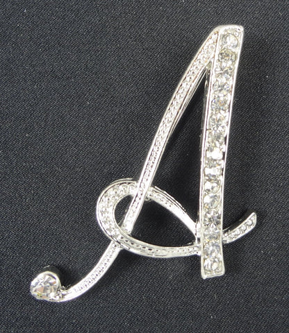 English Letter Brooch Initials (A-Z) - Fancy Brooches - 2