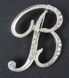 English Letter Brooch Initials (A-Z) - Fancy Brooches - 16