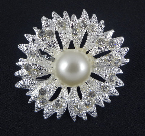 Pearl Brooch - FB0002 - Fancy Brooches