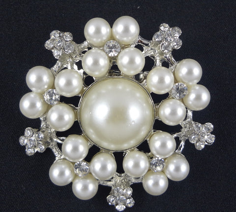 Pearl Brooch - FB0003 - Fancy Brooches