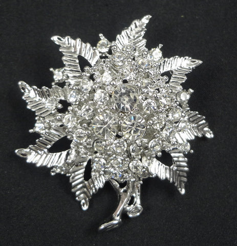 Crystal Brooch - FB0114 - Fancy Brooches
