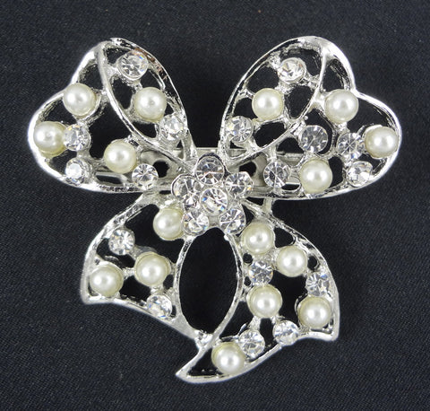 Bow Brooch - FB0024 - Fancy Brooches