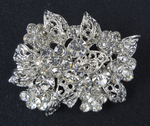 Crystal Brooch - FB0033 - Fancy Brooches