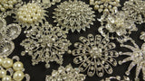 Wholesale Lot of 10-20 Large Assorted Crystal Brooches (#200) - Fancy Brooches - 2