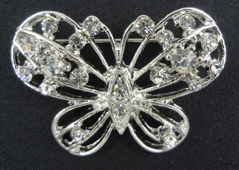Butterfly Brooch - FB0045 - Fancy Brooches