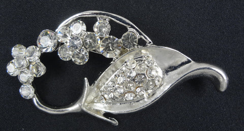 Crystal Brooch - FB0050 - Fancy Brooches