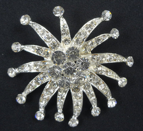 Crystal Brooch - FB0066 - Fancy Brooches