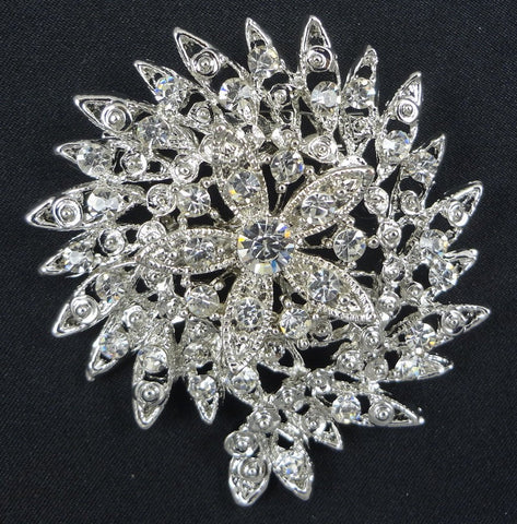 Crystal Brooch - FB0079 - Fancy Brooches