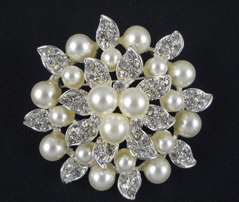 Pearl Brooch - FB0004 - Fancy Brooches
