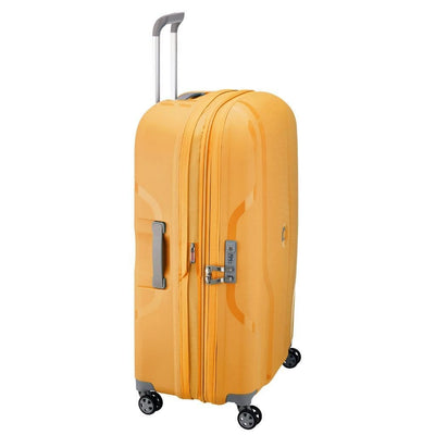 Delsey Luggage Delsey Clavel 70cm Medium Hardsided Spinner Luggage - Yellow