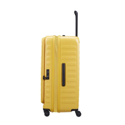 Lojel Cubo Extra Large 77cm Hardsided Luggage - Mustard Yellow