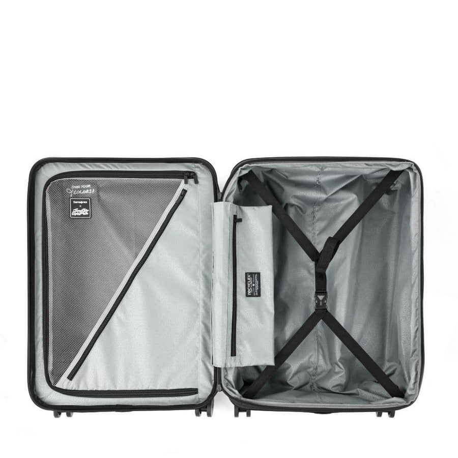 Samsonite Samsonite TOIIS C Carry On/Cabin 55cm Hardsided Spinner Suitcase - Ink Black