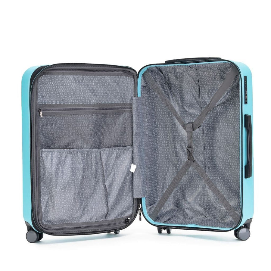 Tosca Tosca Tripster Carry On 55cm Hardsided Luggage - Mint