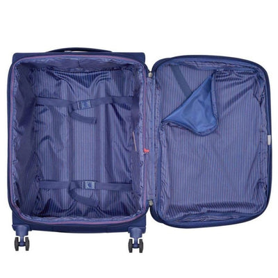Delsey Luggage Delsey Montmartre Air 2.0 68cm Medium Softsided Luggage - Navy