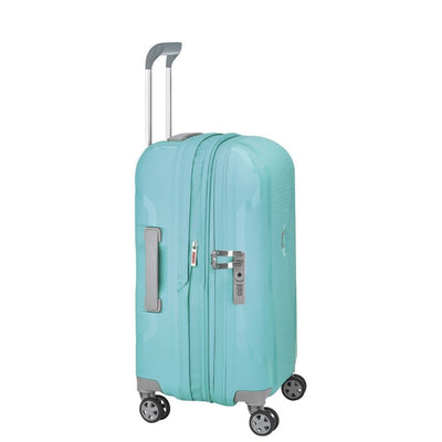 Delsey Luggage Delsey Clavel 55cm Carry On Luggage - Teal Blue