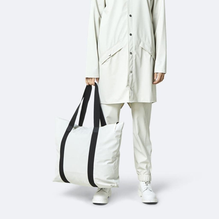 Rains Tote Bag Rush - Off - White