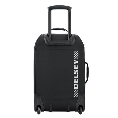 Delsey Luggage Delsey Tramontane 55cm Carry On Hybrid Luggage - Black
