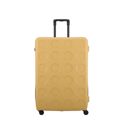 Lojel Luggage Lojel Vita 3 Piece Hardsided Luggage Set Mustard
