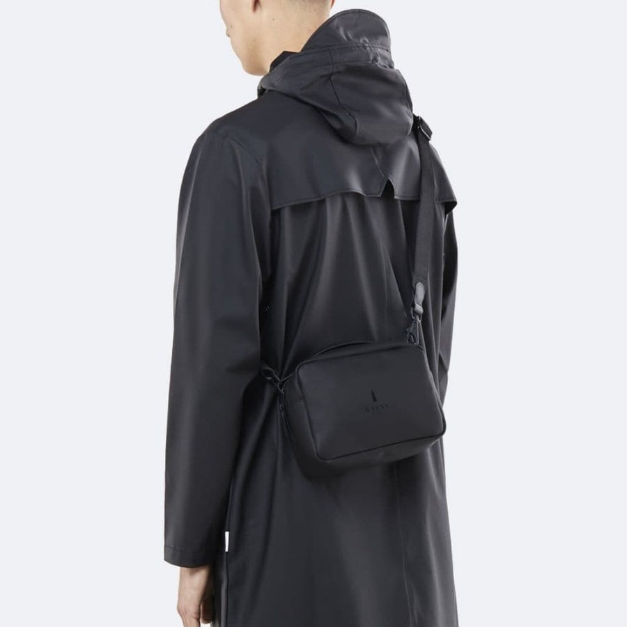 Rains Box Bag - Black
