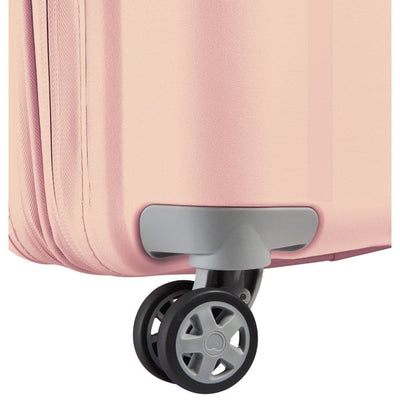 Delsey Clavel 82cm Large Hardsided Spinner Luggage - Peony Pink