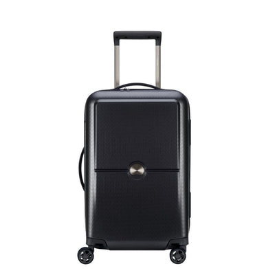 Delsey Luggage Delsey Turenne 55cm Carry On Luggage - Black