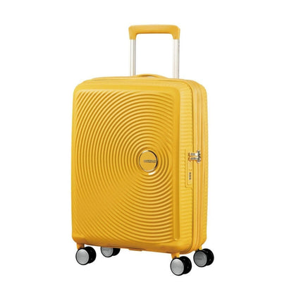 American Tourister Curio Expander Carry On Luggage - Yellow