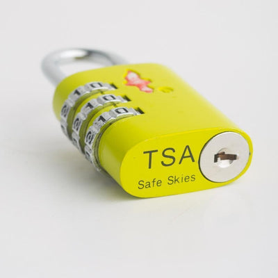Buy Best Luggage Online - 2 x TSA Lock 3 Dial Single - Green - Love Luggage