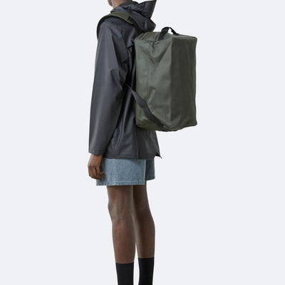 Rains Duffel Backpack - Green