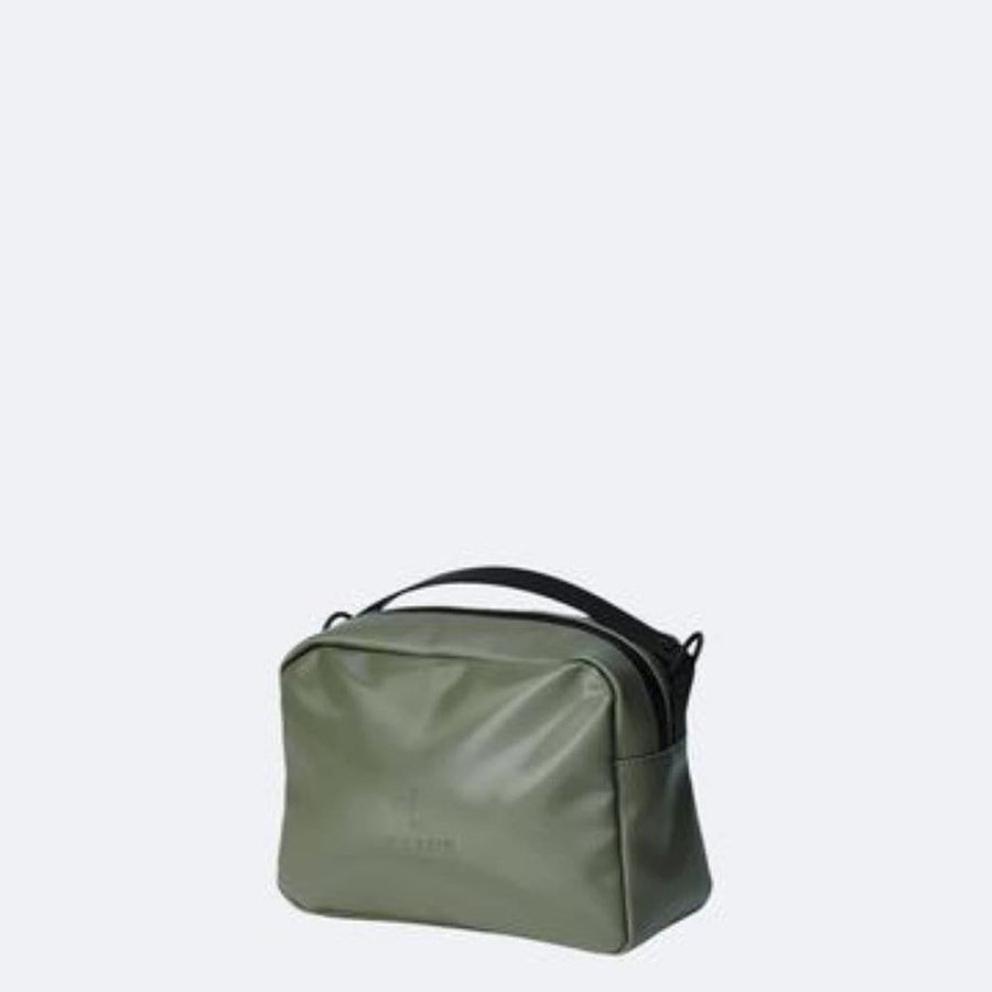 Rains Box Bag - Shiny Olive