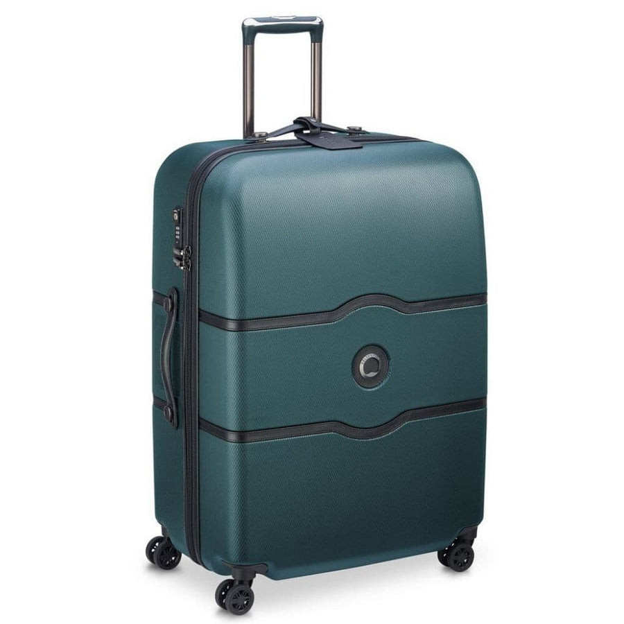 Delsey Luggage Delsey Chatelet Air 77cm Large Luggage - Green