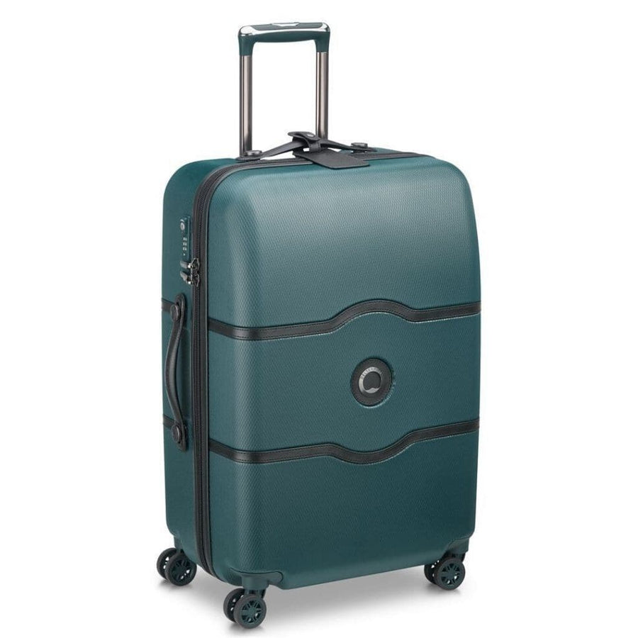 Delsey Luggage Delsey Chatelet Air 69cm Medium Luggage - Green
