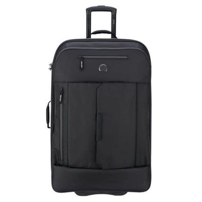 Delsey Luggage Delsey Tramontane 77cm Large Hybrid Luggage - Black