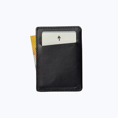 Bare Bones Elements Leather Wallet Aged Black