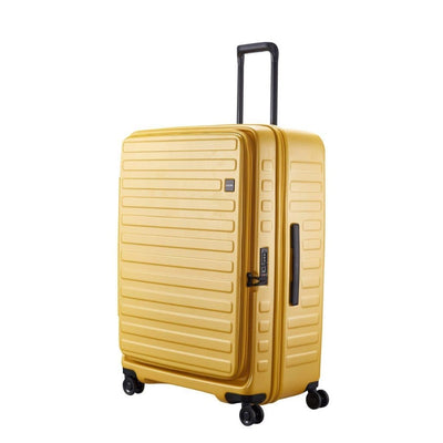 Lojel Cubo Hardsided Luggage Duo Set Cabin & Large - Mustard