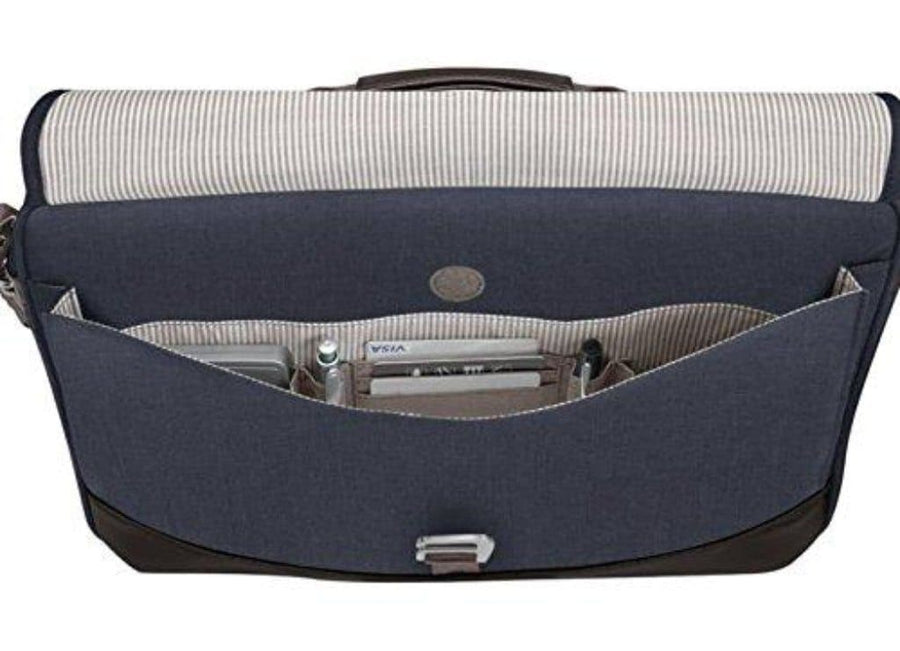 "Brenthaven Brenthaven Collins Slim 15"" Laptop Brief - Chambray"