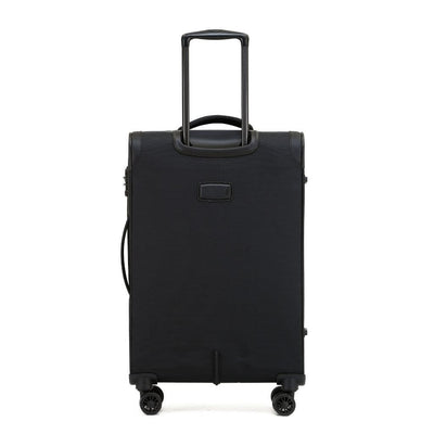 Tosca Tosca So Lite 3.0 Medium Softsided Spinner Luggage - Black
