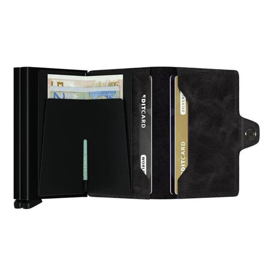 Secrid Secrid Twinwallet - Vintage Black Leather
