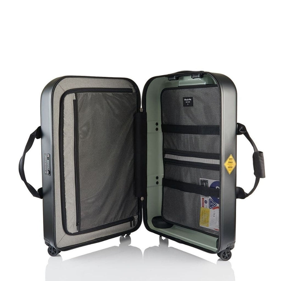 Crumpler VIS 2.0 Lite Luggage Set - Matte Black