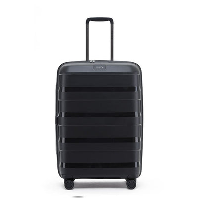 Tosca Comet Medium 65cm Hardsided Expander Suitcase - Black