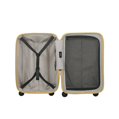 Lojel Vita Carry On 55cm Hardsided Luggage Yellow