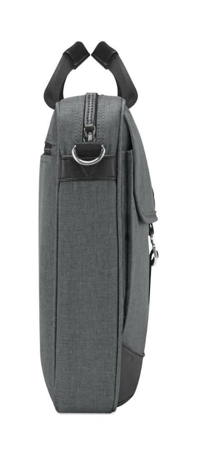"Brenthaven Collins Slim 15"" Laptop Brief - Charcoal"