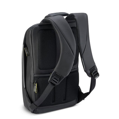 "Delsey Luggage Delsey Securain 14"" Laptop Backpack - Black"