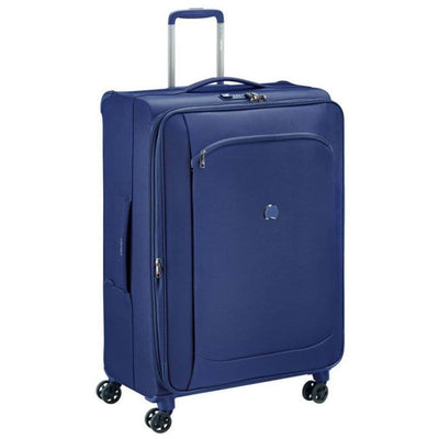 Delsey Luggage Delsey Montmartre Air 2.0 77cm Large Softsided Luggage - Navy
