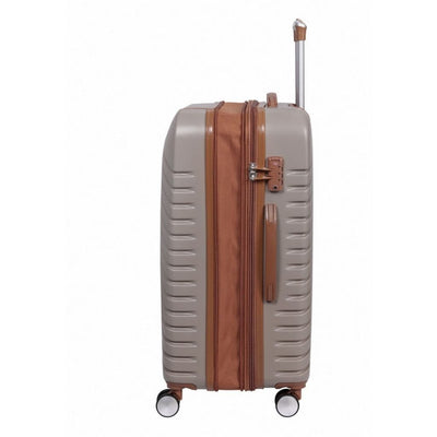 IT Luggage Imperative 80cm Large Expander Suitcase - Coffee Bean