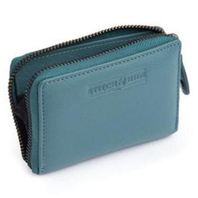 Stitch & Hide Hunter Leather Wallet - Teal