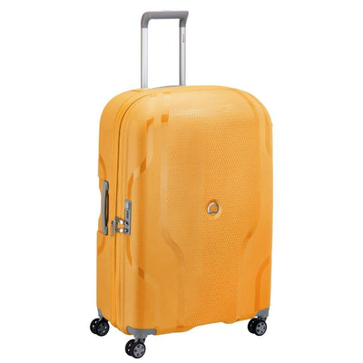 Delsey Luggage Delsey Clavel 76cm Medium Hardsided Spinner Luggage - Yellow