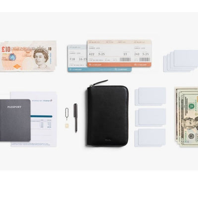 Bellroy RFID Travel Folio Leather - Black